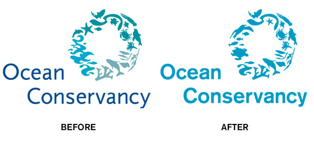 Ocean Conservancy redesigned logo