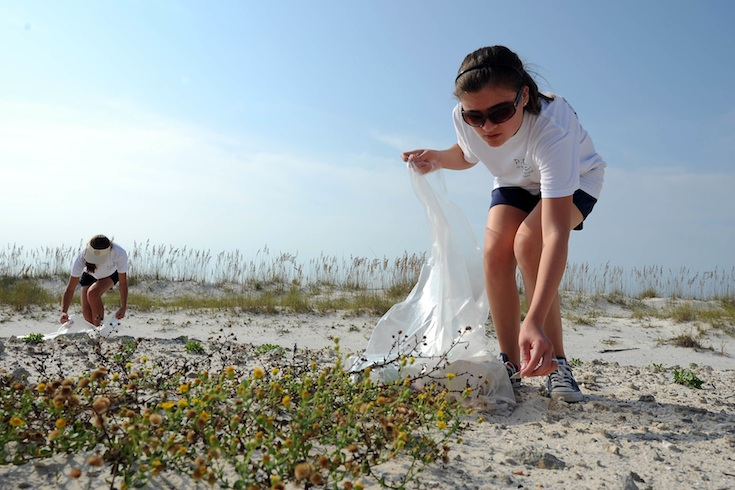 International Coastal Cleanup in the Gulf of Mexico