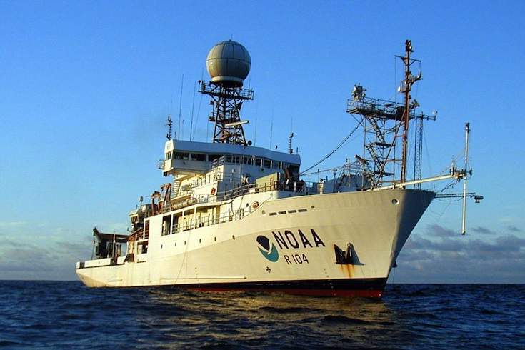 NOAA research ship Ronald Brown